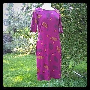 NWT LuLaRoe Julia Dress Large